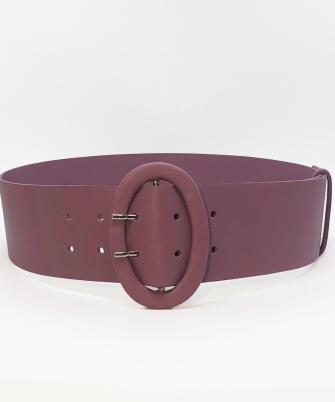 Wide belt - lavanda 1