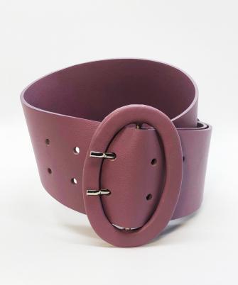 Wide belt - lavanda
